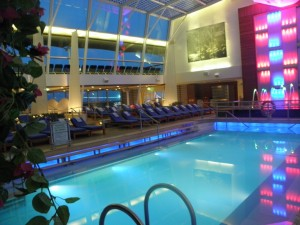 Celebrity Solstice - inside pool