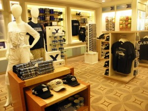 Celebrity Solstice - Logo shop