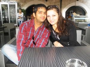 HIPO Akshay in Sonja :)