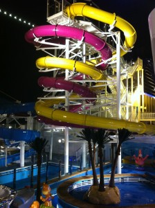 NCL Breakaway Deck 16 waterslides