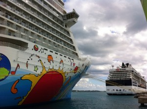 NCL Breakaway vs. Celebrity Summit in Bermuda