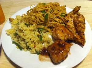 Garden Cafe food 2