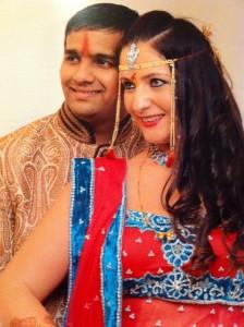 Sonja in Akshay Khandagale