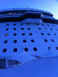 Norwegian Getaway bridge