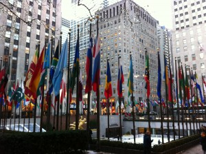 Rockefeller Center, Manhattan, New York