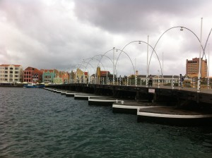 Curacao moving bridge
