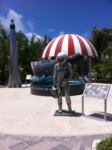 Grand Turk Space shuttle splashdown