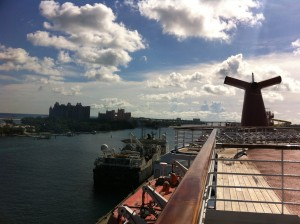 Carnival Sensation in Nassau