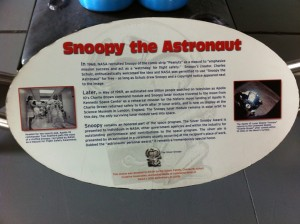 NASA mascot Snoopy the Astronaut