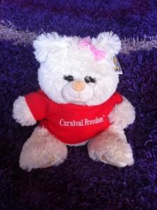 carnival freedom bear