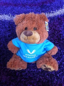 norwegian breakaway bear